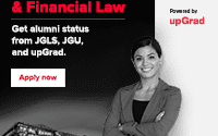 upGrad and Jindal Global Law School LLM in Corporate & Financial Law