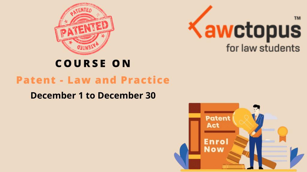 patent law course