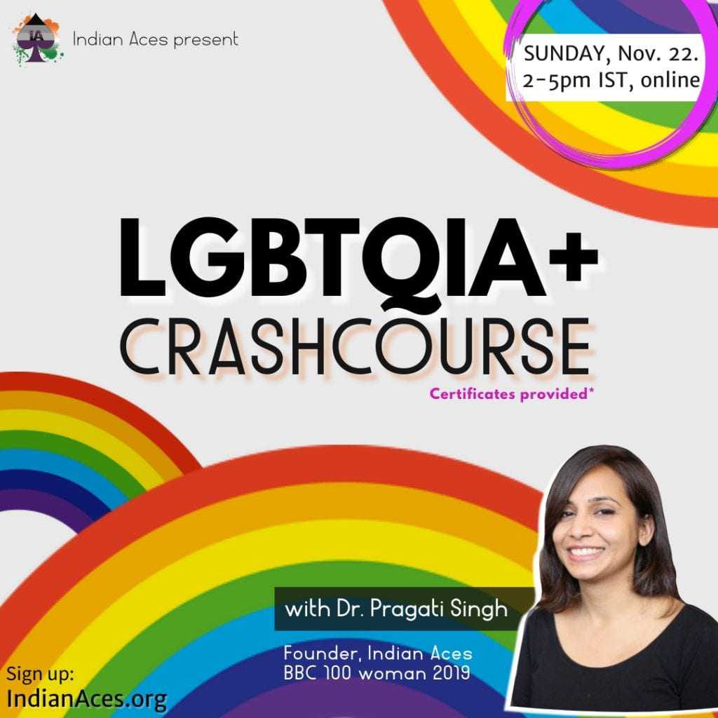 LGBTQIA+ CrashCourse by Indian Aces