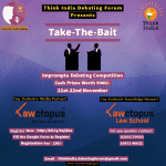 Impromptu Debating Competition by Think India Debating Forum