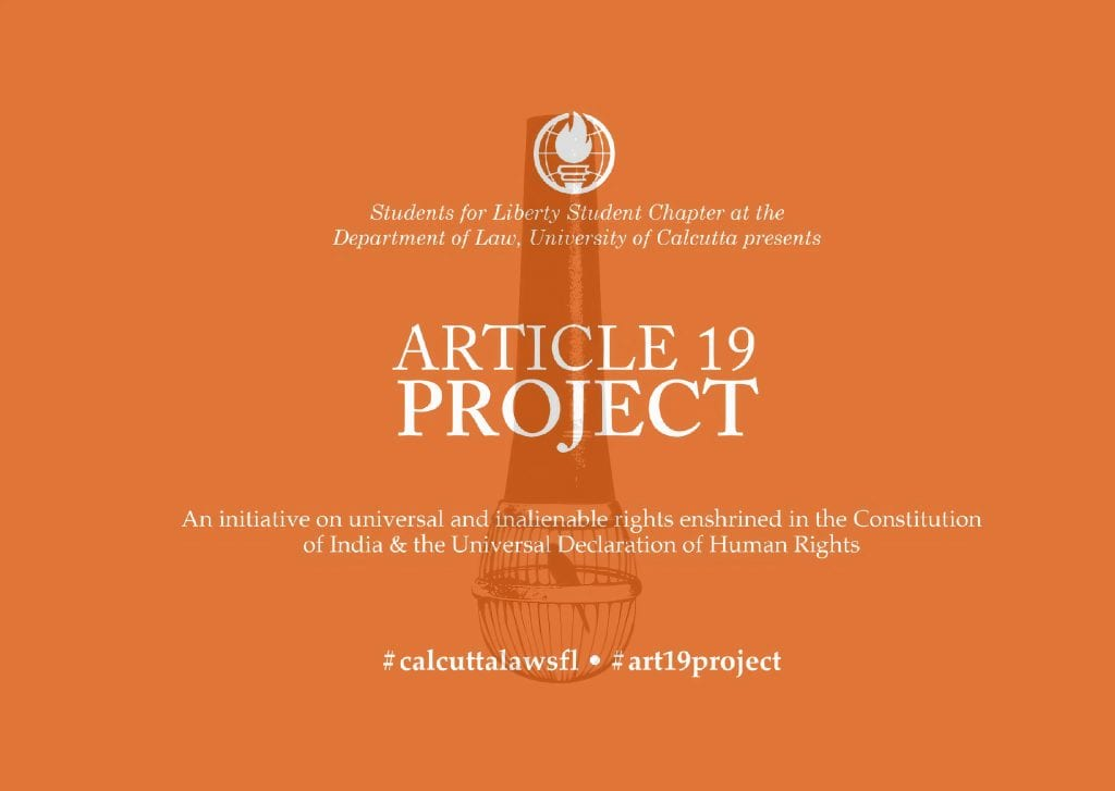 The Article 19 Project Blog by University of Calcutta