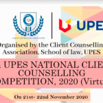 8thUPES National Client Counselling Competition, 2020