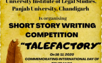 TALEFACTORY: National Short Story Writing Competition by UILS, PU