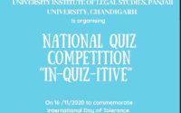 IN-QUIZ-ITIVE: National Quiz Competition by UILS, PU