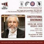 Webinar on Constitutional Governance