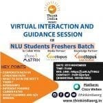 Think India's Virtual Interaction and Guidance Session