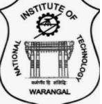 legal freshers job post deputy registrar NIT warangal