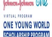 virtual scholarship program 2021 Johnson & Johnson-One young world