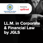 upGrad JGLS LLM in Corporate and Financial Law
