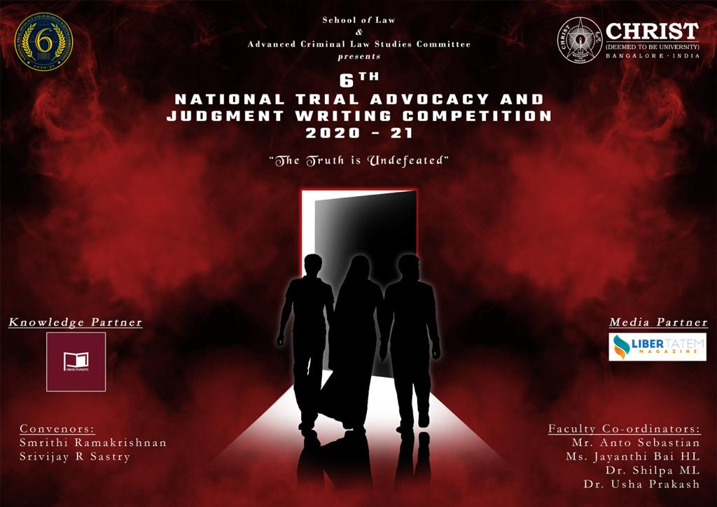 Christ University's Trial Advocacy and Judgment Writing Competition