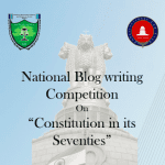 NUSRL's National Blog Writing Competition on Constitution in its Seventies