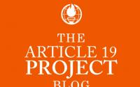 The Article 19 Project Blog SLS University of Calcutta