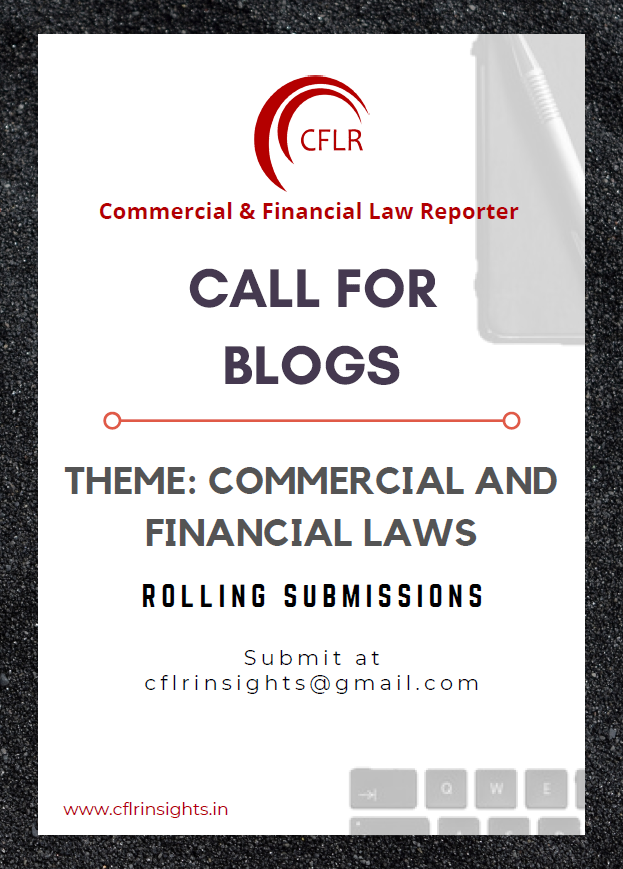 Commercial and Financial Law Reporter [CFLR] Blog