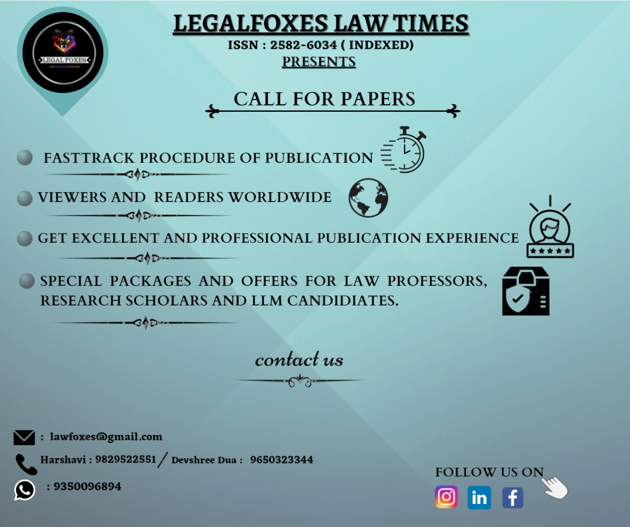 Legal Foxes Law Times Journal