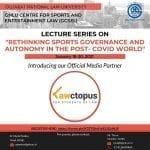 GNLU SCSEL lecture seriesposter