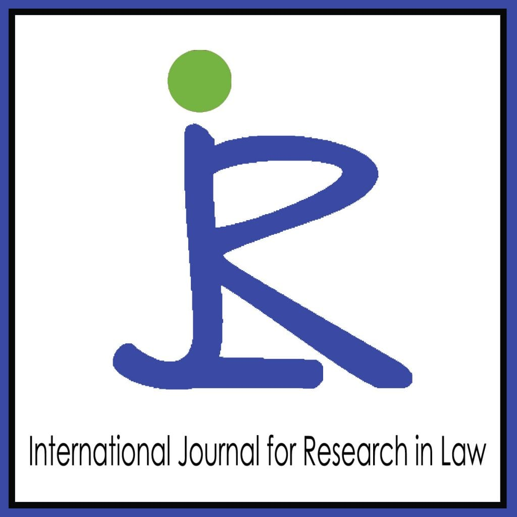 International Journal for Research in Law