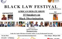 LPU Black Law Festival african debate show