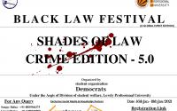 lpu black law festival shades of law crime edition 5.0
