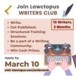 Lawctopus Writers Club