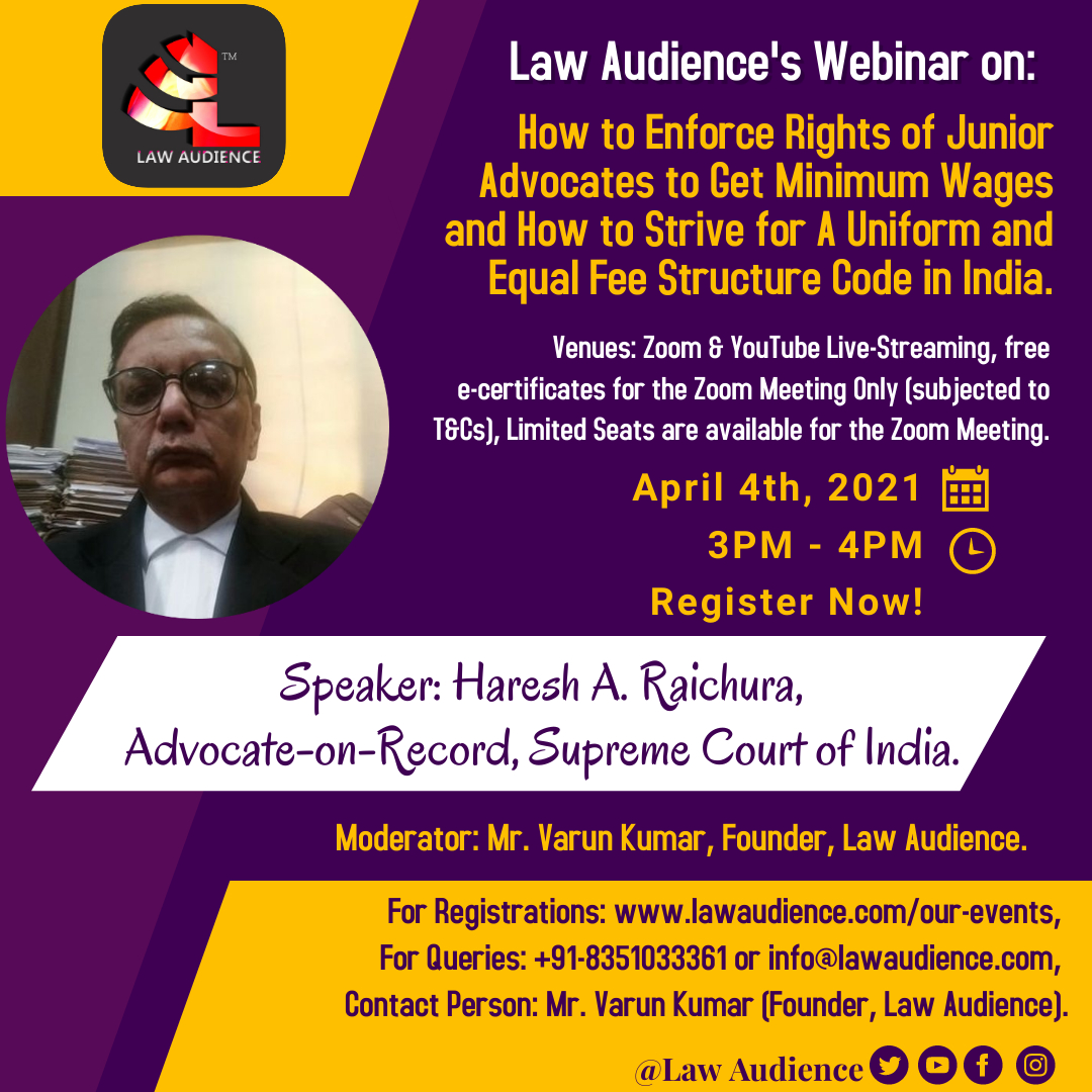 Law Audience Webinar