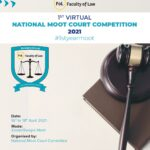 marwadi university 1st virtual moot court competition