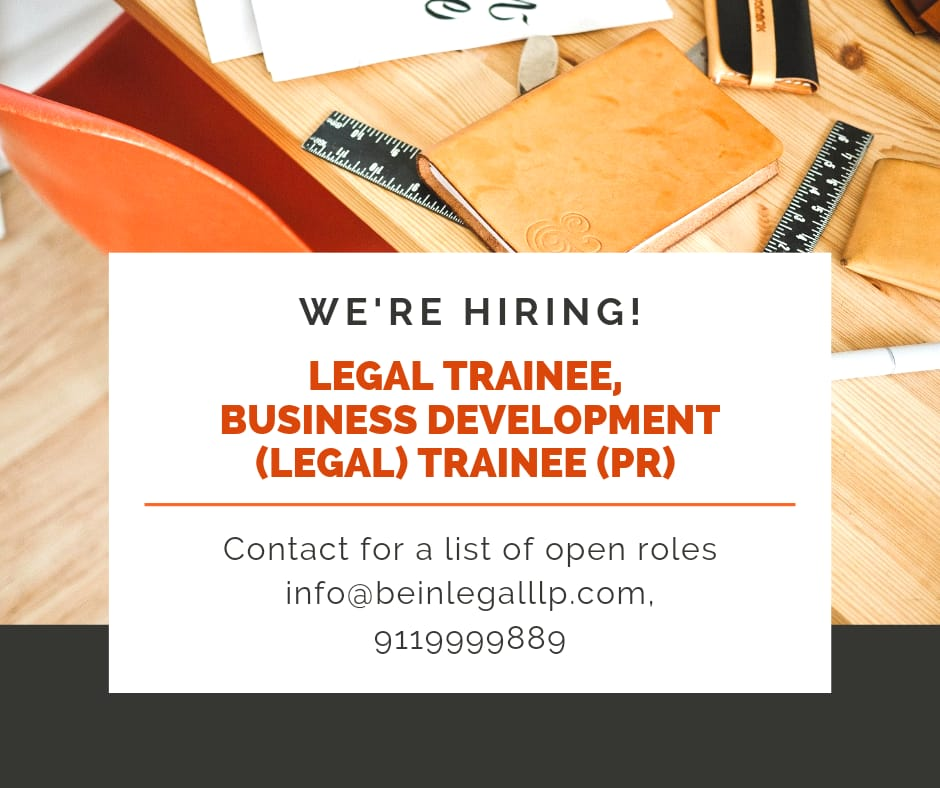 BeIN Legal LLP Legal Trainee