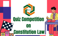 Search India Legal Quiz Competition on Law of Constitution