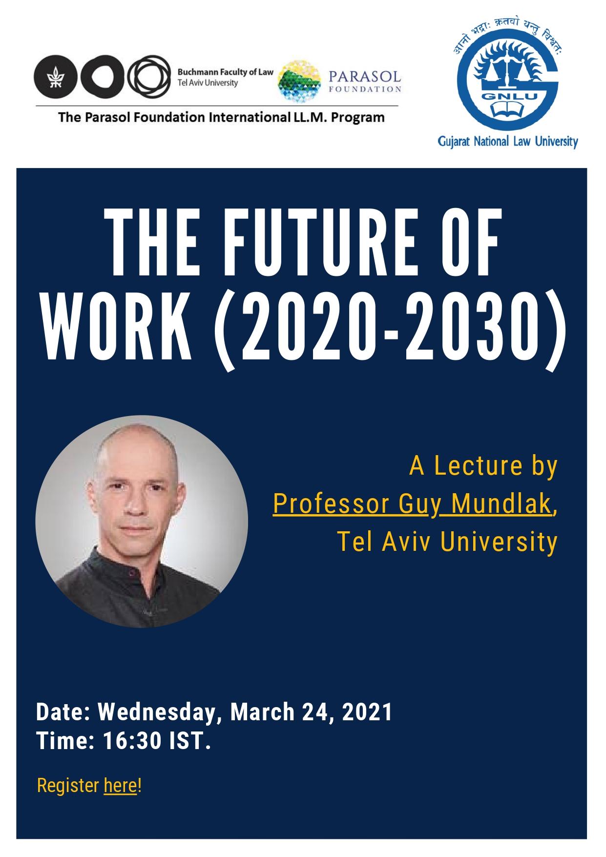 The Future of Work (2020-2030) webinar by gnlu