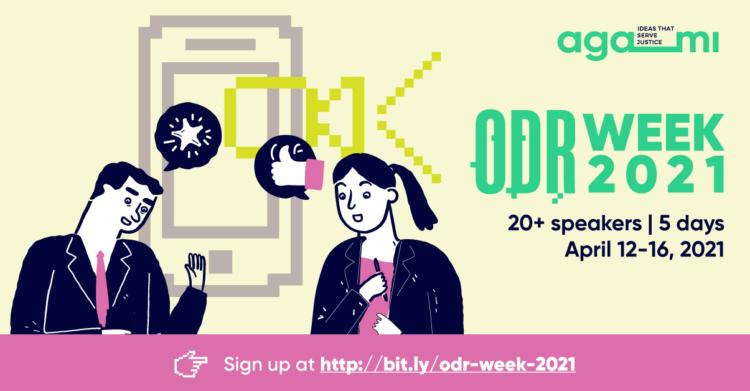 Agami's ODR Week 2021