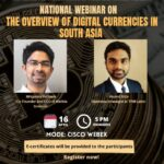 webinar on cryptocurrency in south asia by sls hyderabad