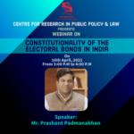 Symbiosis Law School Hyderabad Webinar