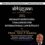 abhigyaan lecture series migrants refugees