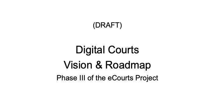 SC E-Committee Digital Courts Vision & Roadmap