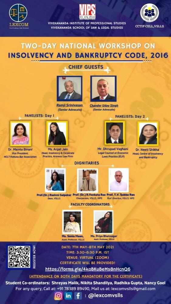 Vivekananda Institute of Law and Legal Studies Workshop