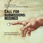 Call for submissions Musings calcutta university department of law