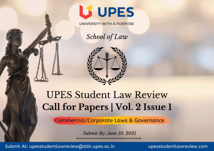 UPES Student Law Review