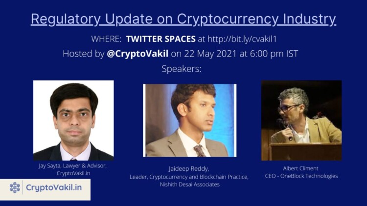 Cryptovakil.in Introductory Discussion