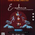 virtual techno cultural sports fest euphoria jecrc university