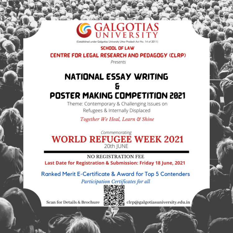 Galgotias University's National Essay Writing & Poster Making Competition