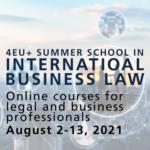 4EU+ Summer School in International Business Law