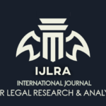 call for papers by ijlra journal of legal research and analysis