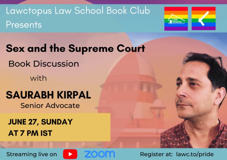 Saurabh Kirpal book discussion