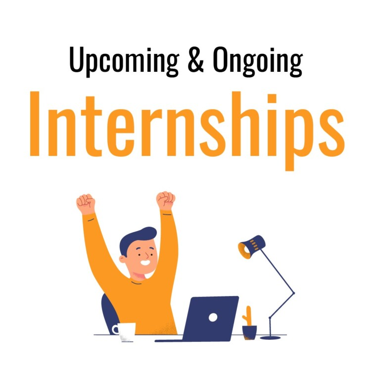 upcoming and ongoing internships published on lawctopus