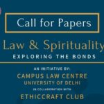 delhi university campus law centre international e-conference on law and spirituality