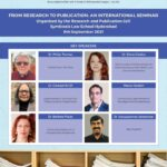 international seminar on research and publication by symbiosis law school sls hyderabad