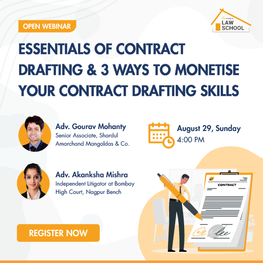 Webinar on Essentials of Contract Drafting