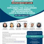 pimr indore virtual seminar on challenges under environmental laws and policies in india