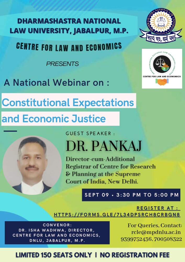 dnlu centre for law and economics webinar on constitutional expectations and economic justice