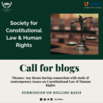 UPES' Society for Constitutional Law & Human Rights [SCLHR]