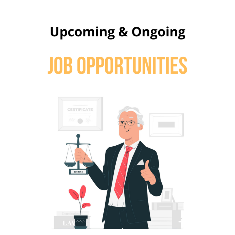lawctopus upcoming and ongoing job opportunities
